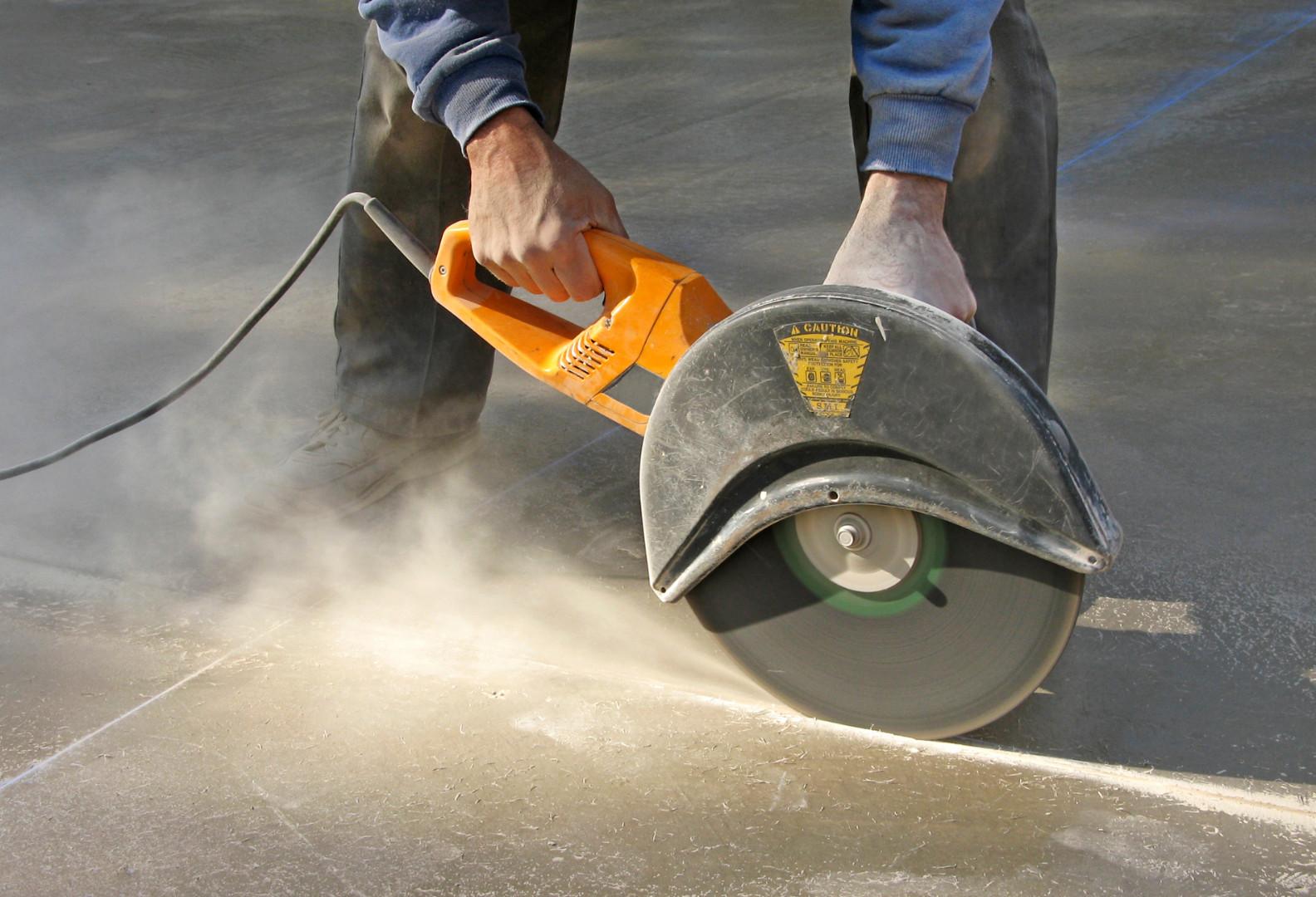 болгарка для резки бетона